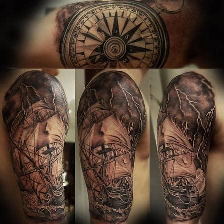 pirate ship front piece by rakhee shah tattoonow