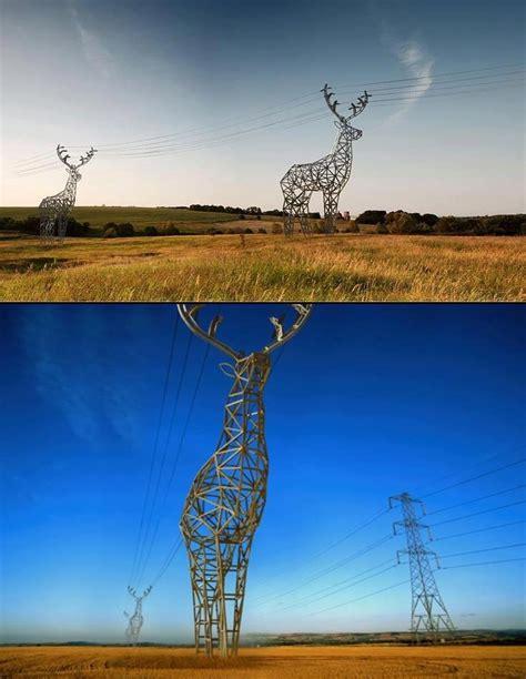 interesting concept modern electricity pylons interesting pinterest