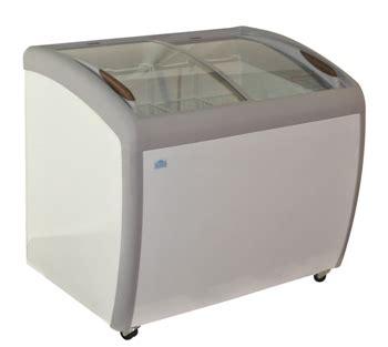 Sliding Flat Glass Feezer Sd 132p 39 quot curved glass top sliding lid display freezer zsd 260jy alamo refrigeration