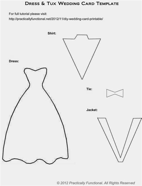wedding dress template for the of creating die cuttin divas wedding or