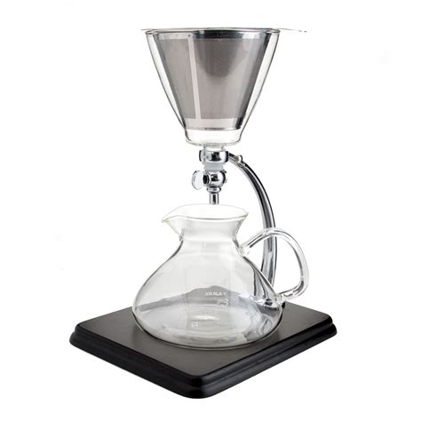 Silverton Coffee/Tea Dripper with Stainless Cone Filter 16oz   Espresso Parts