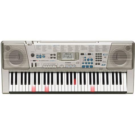Keyboard Casio Lk 300tv casio 61 key keyboard lk300tv b h photo