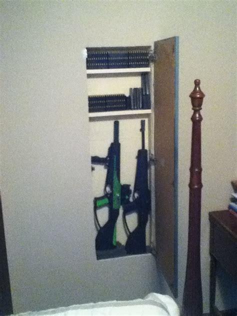diy hidden gun cabinet  woodworking