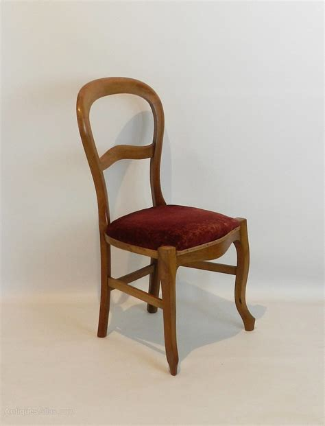 Set Of Four French Balloon Back Dining Chairs Antiques Atlas Balloon Back Dining Chairs
