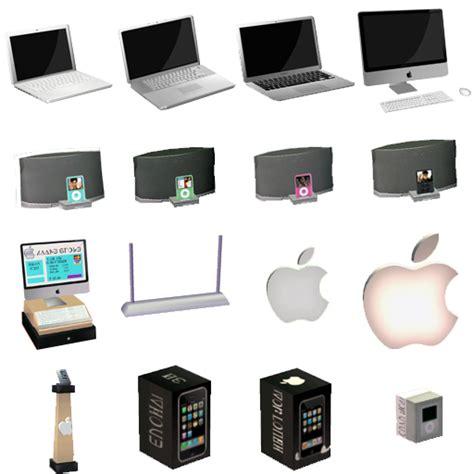 mod  sims  apple store set    items