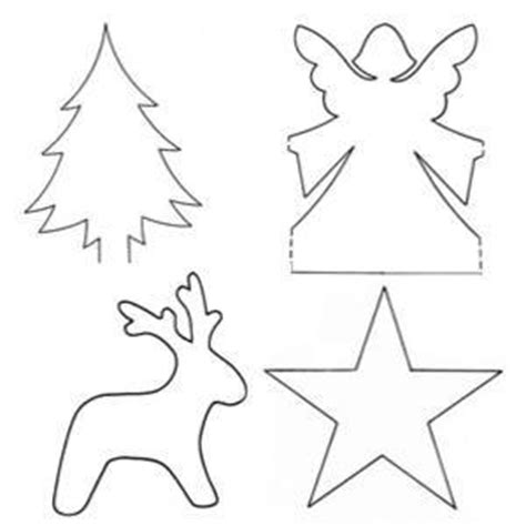 christmas decorations cutouts free diy crafts for