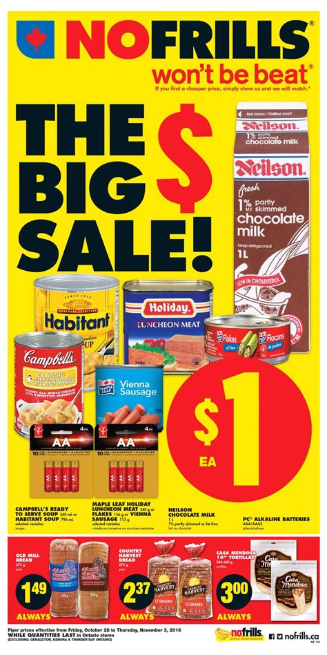 no frills new year flyer no frills on flyer october 28 to november 3