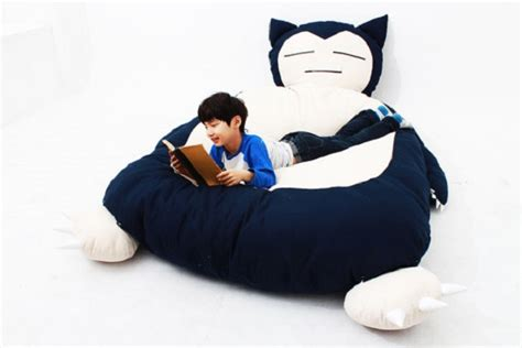 snorlax bed this snorlax bed looks really soft and comfortable sgcafe