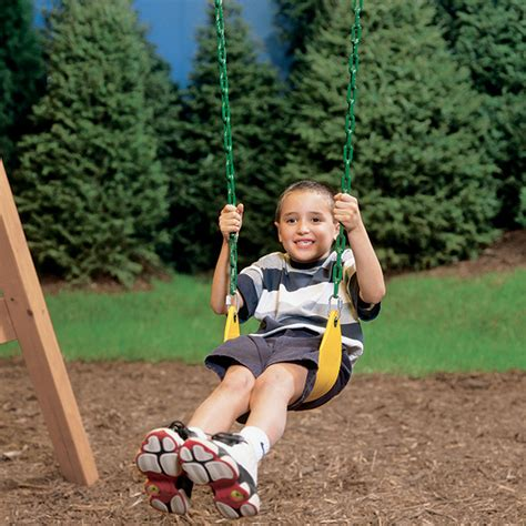 playstar toddler swing swing seat with rubber coated chain rona