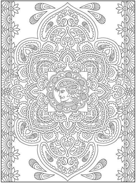 mehndi coloring pages mehndi designs crafts coloring cultures