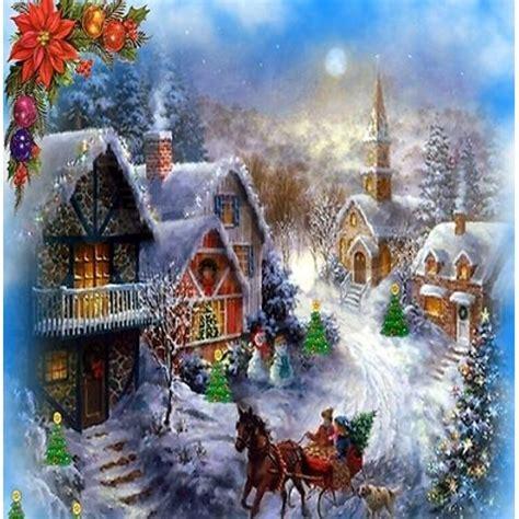 homeade lifesize thinas kinkade christmas tree shower curtain
