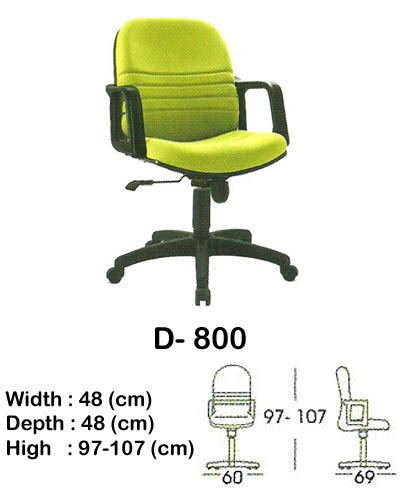 Kursi Lipat Indachi kursi kantor direktur manager indachi d 800 sentra