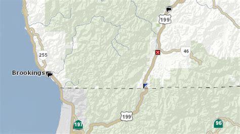 (updated) highway 199 closed near california/oregon border