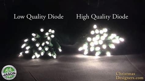 pro grade led christmas lights versus retail grade