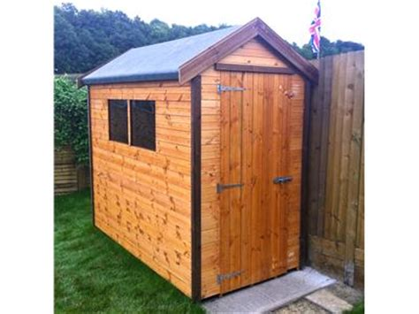 8x4 Wooden Shed by Newport Sheds Sheds In Newport Free Fittng Delivery