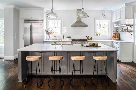 Grey Stools For Kitchen Island by Gray Kitchen Island With Wisteria Smart And Sleek Stools