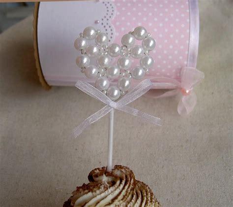 bridal shower cupcake toppers picks cupcake toppers pearl wedding cupcake toppers bridal shower cupcake toppers