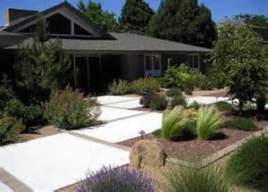 low maintenance front yard landscaping ideas modern
