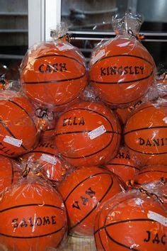 Basketball Party Favors On Pinterest Basketball Party