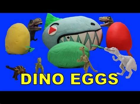 Doh Colors Dinosaurs 1 dinosaur play doh eggs jurassic world