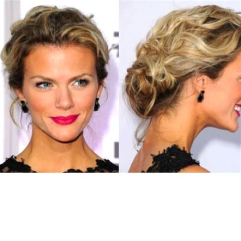 homecoming hairstyles messy bun loose low bun prom hair for mag pinterest updo low