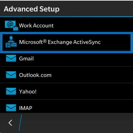 setup and configure blackberry q10 for microsoft exchange configure gryph mail office 365 on blackberry mobile