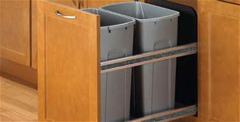 trash can cabinet size kitchen trash compactor yay or nay
