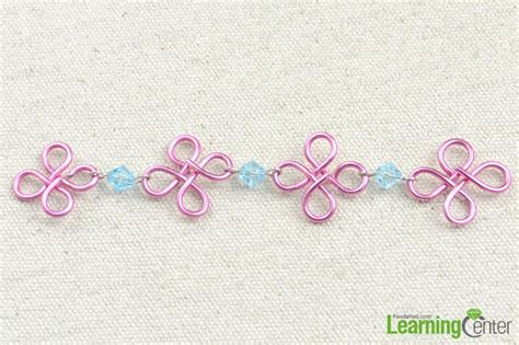 Handmade Chain Designs - handmade flower design wire chain pandahall