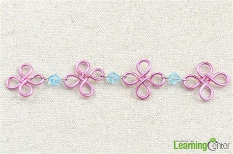 Handmade Chain Designs - handmade flower design wire chain pandahall