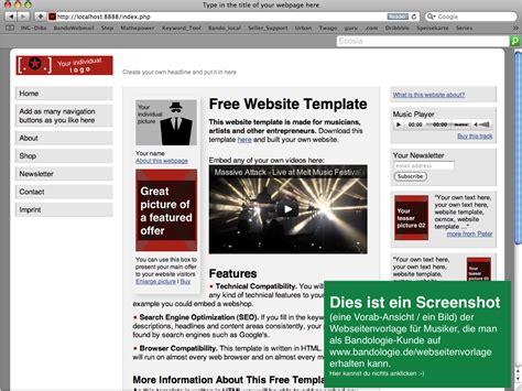 Angebot Webseitenerstellung Vorlage Screenshot Der Webseitenvorlage Klicken F 252 R Gr 246 223 Ere Ansicht