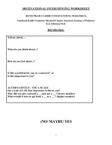 Motivational Interviewing Worksheets by Collection Of Change Plan Worksheet Desirbrilliancecream