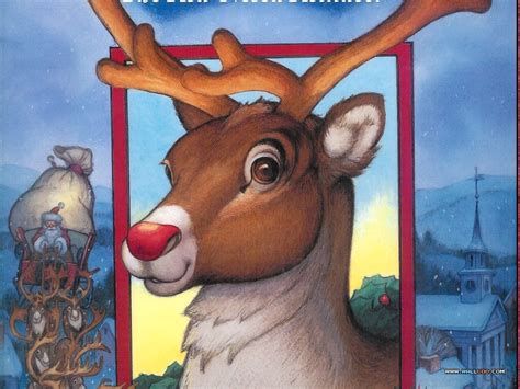 christmas wallpaper rudolph the red nosed reindeer wallpapers of rudolph the red nosed reindeer story book