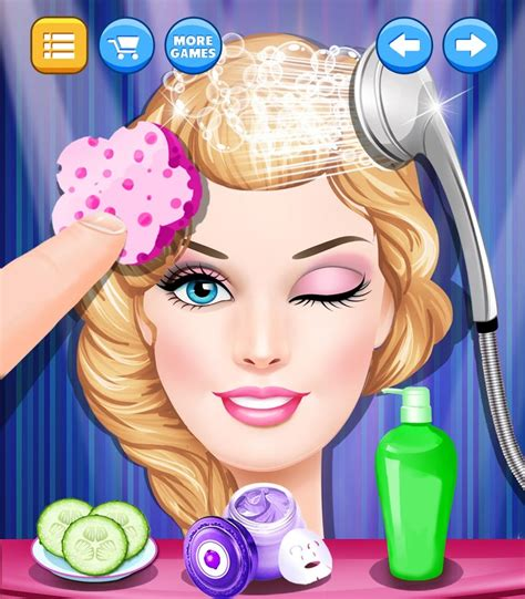 hair and makeup salon games beauty hair salon fashion spa android apps on google play