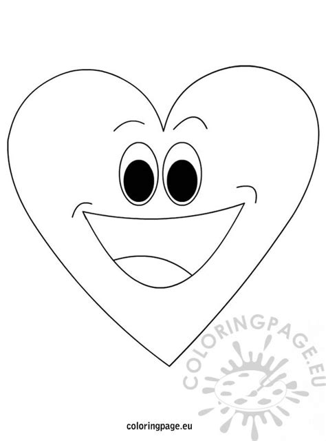 heart person coloring page happy valentines day heart coloring page