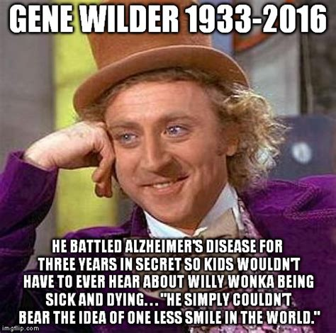 Gene Wilder Willy Wonka Meme - creepy condescending wonka meme imgflip