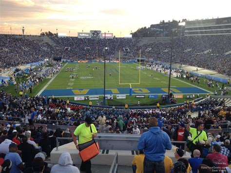 section xi football rose bowl stadium section 11 ucla football