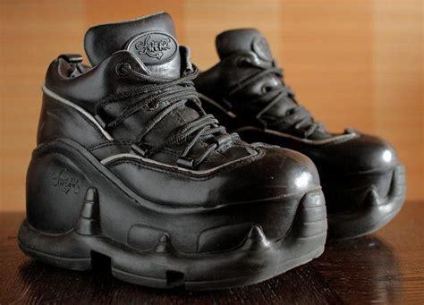 original swear black platform 90 s shoes 90s shoes