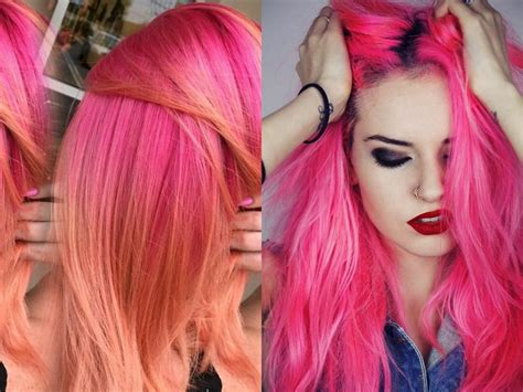 hair colors for hair neon hair colors you should try once hairdrome