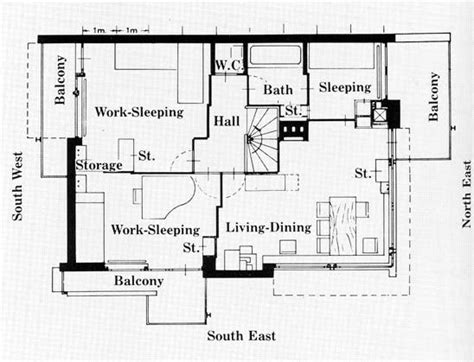 rietveld schroder house floor plans schroder house de stijl pinterest house and architecture
