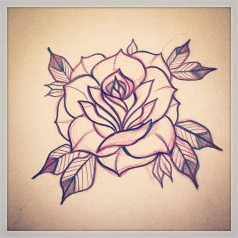 neo traditional tattoo design neo traditional flower search inspirational