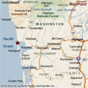 Ocean Shores Washington Map by Ocean Shores Washington
