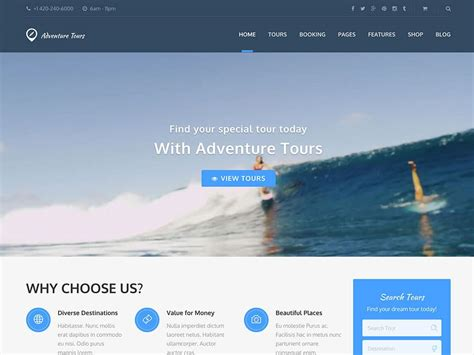 membuat website tour and travel 45 best travel wordpress themes for blogs agencies and