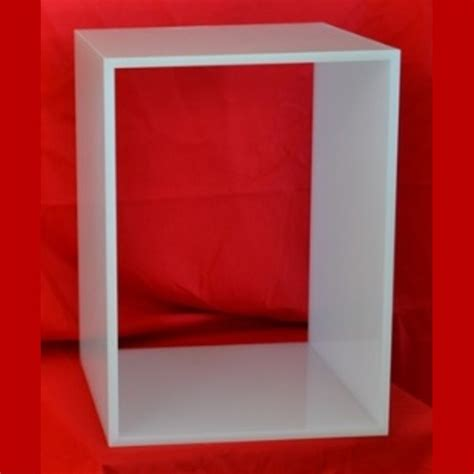 arredamento plexiglass cubi modulari plexiglass componibili ludovic plexiglass