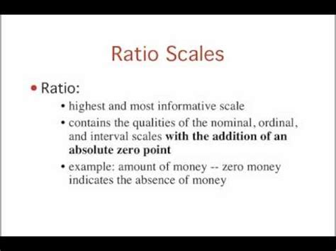 introduction to statistics: levels of measurement youtube