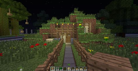Painting Mobile Home Exterior - minecraft hobbit hole exterior by bowtiesrcool99 on deviantart