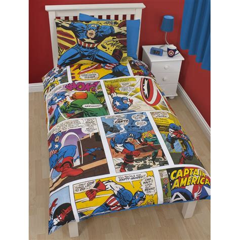 Marvel Bed Set by Official Marvel Comics Bedding Bedroom Accessories Duvets Curtains Ebay
