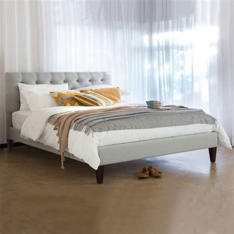 Caesar Size Bed the caesar upholstered bed frame by get laid beds