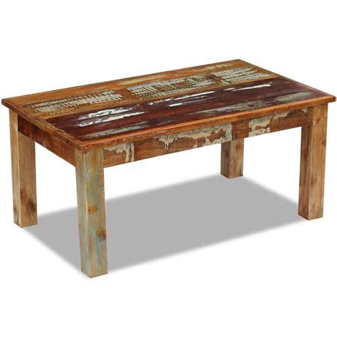 vidaxl couchtisch vidaxl couchtisch recyceltes massivholz 100x60x45 cm