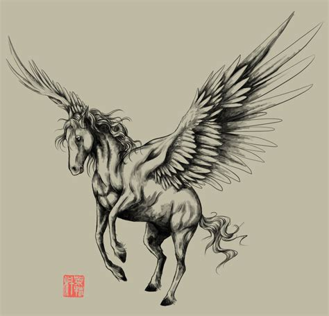 pegasus tattoo 40 pegasus designs