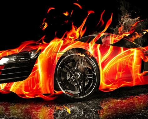 car  fire hd wallpaper hd latest wallpapers
